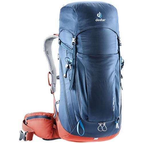 Deuter Trail - Deuter Trail Pro 36 Backpacking Backpack, Midnight/Lava