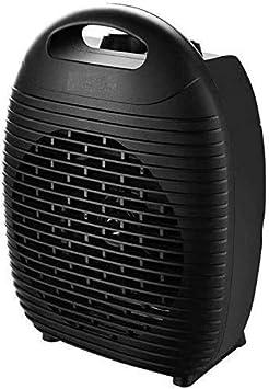 Máquina de planchar Mini calentador eléctrico, calentador 2000W portátil, 2-en-1 caliente y aire frío con la protección del sobrecalentamiento, funcionamiento silencioso en dormitorio Dormitorio Ofici