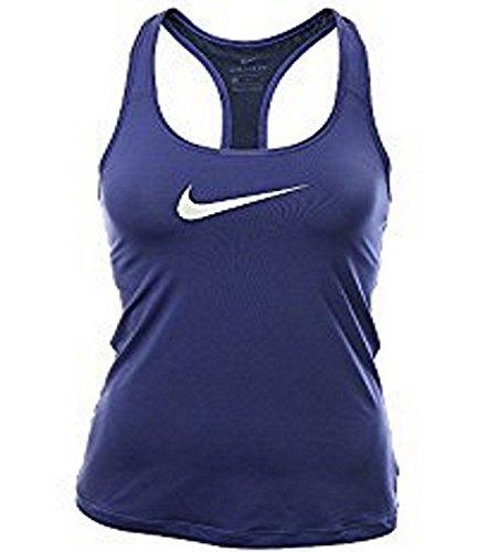 Nike Women Pro Tank Top Navy Large