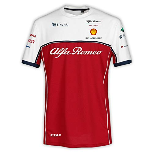 Master Lap Camiseta Alfa Romeo Racing Kimi Raikkonen