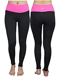 Balance Collection (by Marika) Womens Sports Skinny Leggings Yoga Pants S Black