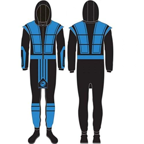 Mortal Kombat SUB-ZERO Full Body Union Suit Costume Pajamas - LIMITED EDITION (Medium)]()