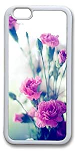 iPhone 6 Cases, Personalized Protective Case for New iPhone 6 Soft TPU White Edge Bouquet by mcsharks