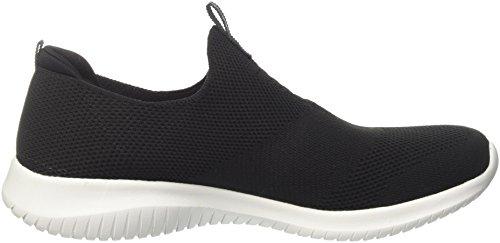 Skechers Vrouwen Ultra Flex-eerste Take Sneaker Zwart / Wit