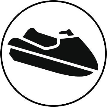 Amazon Com Simple Family Beach Cruise Vacation Cartoon Icon Vinyl Decal Sticker 12 Wide Jet Ski Automotive