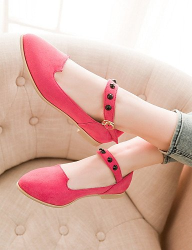 Rosa Casual Tac¨®n Yellow Planos Zq Yyz Cn36 Uk4 Eu36 us8 Eu39 Puntiagudos Pink Amarillo Semicuero Azul De Cn39 Plano Negro Zapatos Uk6 us6 Mujer wq8IOq