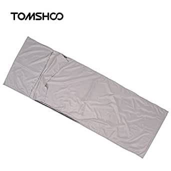 TOMSHOO Outdoor Travel Camping Hiking Polyester Pongee Healthy Sleeping Bag