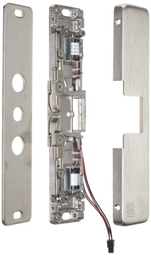 HES 9400 Series Stainless Steel Slim-Line Surface Mounted Electric Strike Body, Satin Stainless Steel Finish