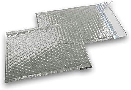 Luftpolstertaschen metallic 50 St/ück 165 x 165 mm Schwarz