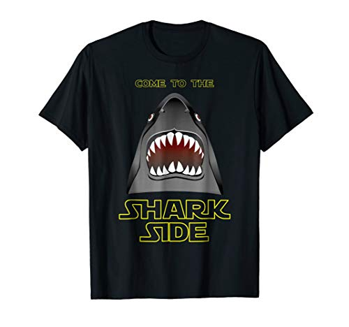 Come to the Shark Side Blood Bite Teeth Surf Ocean Shirt