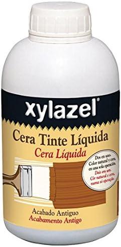 Xylazel - Cera tinte liquida para madera 750ml caoba: Amazon ...