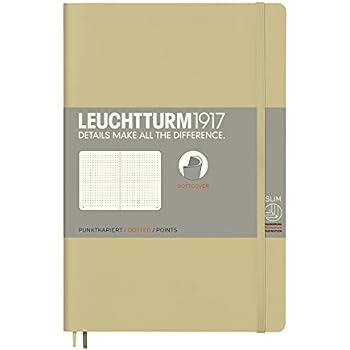 Cuaderno de tapa blanda Leuchtturm1917 358306 B6 Plus tapa blanda color verde