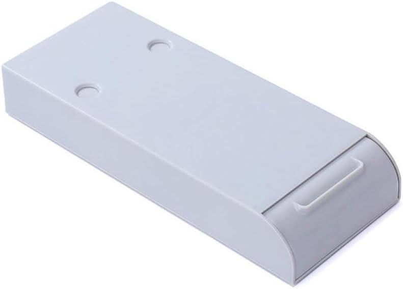 Zdmathe Federm/äppchen Pencil Tray Selbstklebende Pop-Up Unter Schreibtisch Schublade Versteckte Schreibwaren Organizer Lagerung Inhaber Fall B/ürobedarf