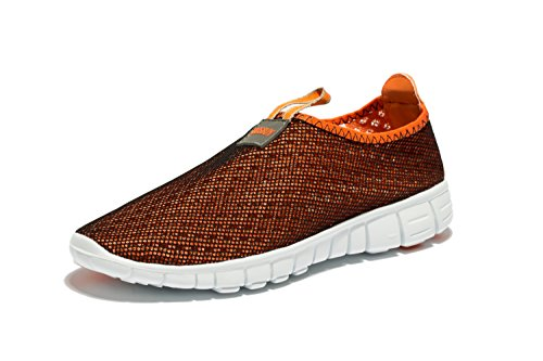 Osu Breathable Mesh Shoes,Running, Outdoor,Athletic,Slip-on Orange