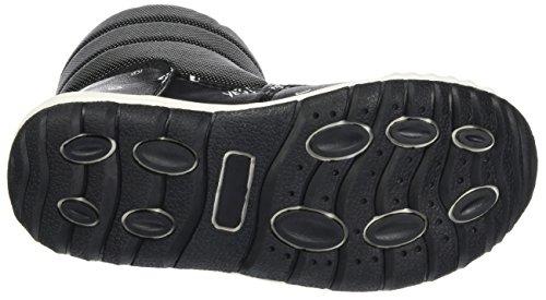 ESPRIT Unisex-Kinder Hiker Boot Schneestiefel Schwarz (Black)