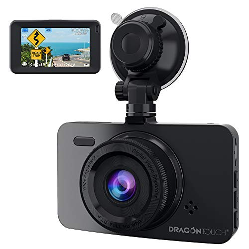 Dragon Touch Dash Camera for Cars, 1080P FHD Dash Cam Car Camera 3