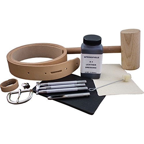 Springfield Leather Company Beginner's Belt Making - Belt Leather Kits