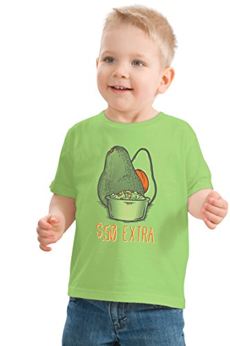 Side of Guacamole | Funny Matching Family (Burrito Parents) Kids' T-shirt