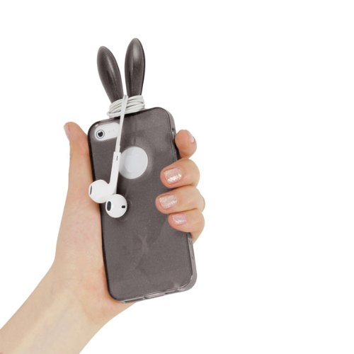 RABITO BUNNY Original Coque iPhone 5S/5 Nouvelle Protection Portable LAPIN GRIS