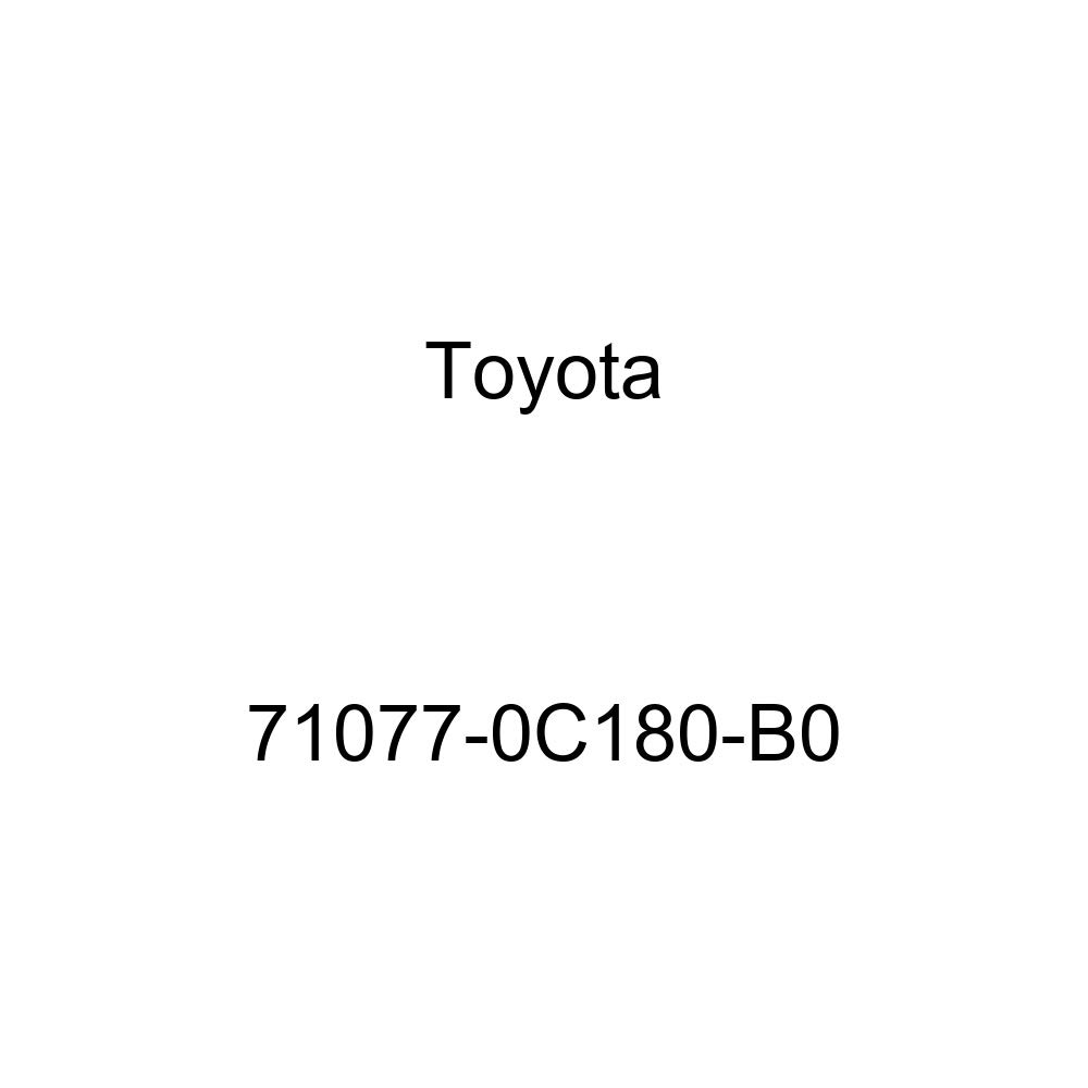 TOYOTA Genuine 71077-0C180-B0 Seat Back Cover