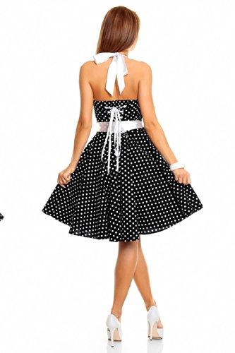 Mayaadi - Vestido - Noche - Lunares - para mujer