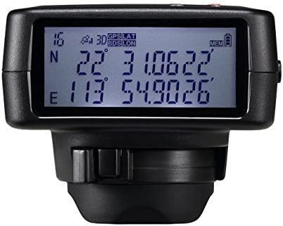 Solmeta GMAX-GF Photo Video GPS BDS Dual-positioning Geotagger Bluetooth Shutter Release for Nikon camera D750, D610, D7200, Df Coolpix A…with 4GB Flash,1900mAh Li-ion, Altimeter,eCompass,LCD…