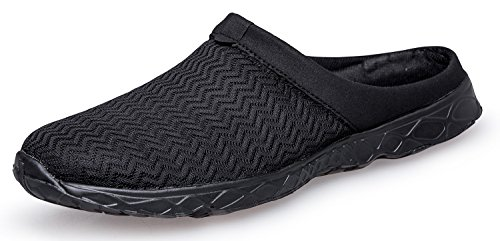 Pooluly Womens Outdoor Breathable Water Slippers Lightweight Athletic Water Shoes Black i1BSNWu2mB