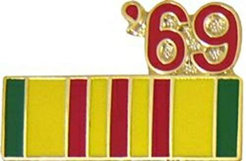 '69 Vietnam Year Lapel Pin or Hat Pin