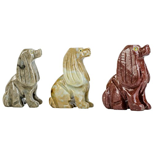 Digging Dolls : 10 pcs Artisan Dog Collectable Animal Figurine - Style 2 - Party Favors, Stocking Stuffers, Gifts, Collecting and More! by Digging Dolls