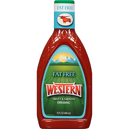Western Salad Dressing, Fat Free, 15 Ounce Dressing Fat
