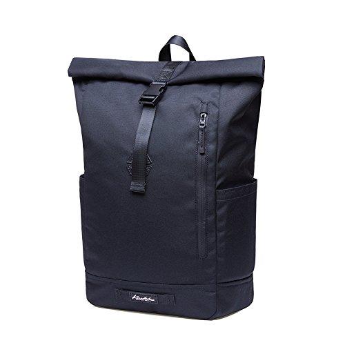 KAUKKO Casual Daypacks&multipurpose backpacks,Outdoor Backpack,Travel Casual Rucksack,Laptop Backpack Fits 15'' (04black) by KAUKKO (Image #2)