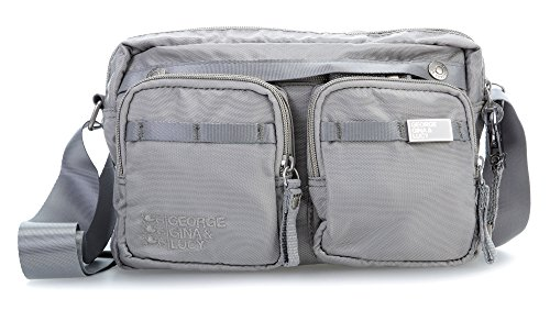 George Gina & Lucy Lunch Date Bolso bandolera 27 cm grey_light grey, grau
