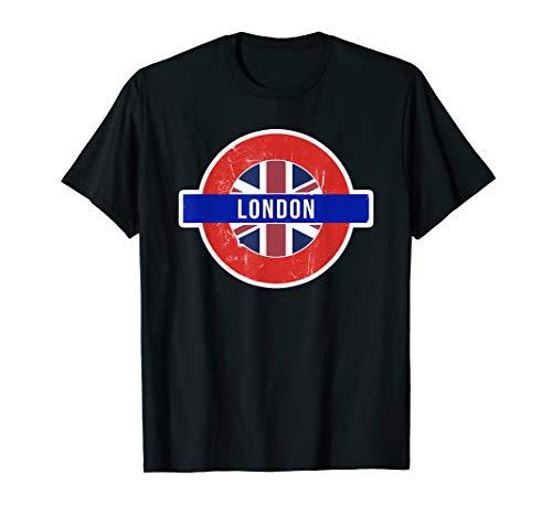 London UK T-shirt - Fun English / British City Travel Gift ()