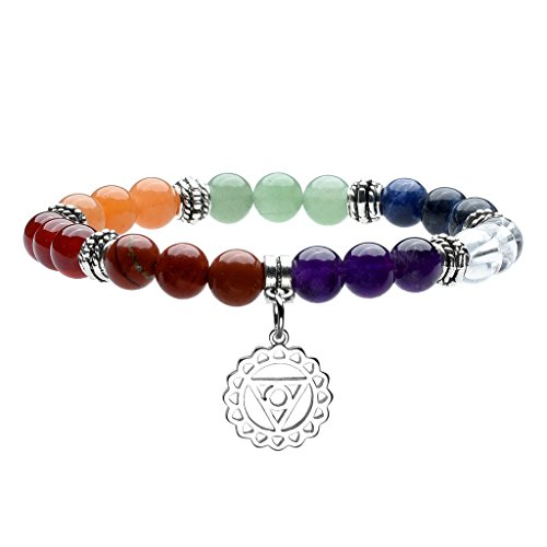 Top Plaza Gemstone Meditation Bracelet