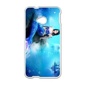 Anime Mermaid HTC One M7 Cell Phone Case White SUJ8476365