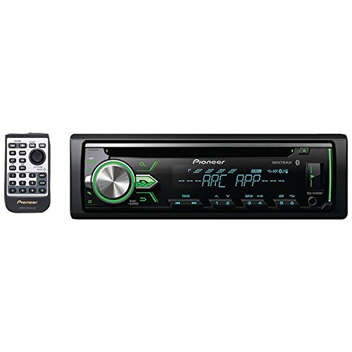 Pioneer DEH-X4900BT Vehicle CD Digital Music Player Receivers, Black by Pioneer