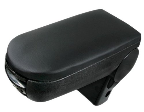 Astra Depot Comfortable Black Leatherette Center Console Armrest Box For GTI MK4 GOLF JETTA 99 00 01 02 03 04 (Volkswagen Golf 4 Parts)