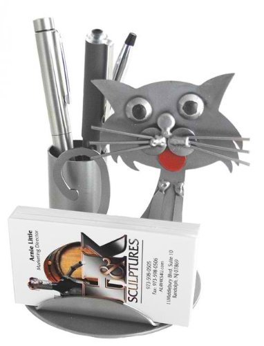 Amazon cat shaped business card and pen holder pencil cat shaped business card and pen holder colourmoves