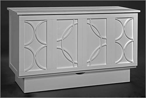 (fu-chest Queen CREDEN-ZZZ Brussels Cabinet BEDNEW White Color and Style)