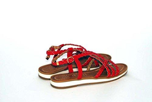 Sandali donna in pelle per l'estate scarpe RIPA shoes made in Italy - 09-8282