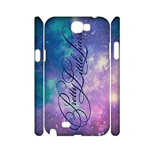 Pretty Little Liars 3D Back Case Cover for Samsung Galaxy Note2 N7100,diy Pretty Little Liars 3d case cover