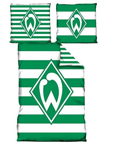 Bertels Werder Bremen 80041-02 Bremen Duschtuch Blockstreifen