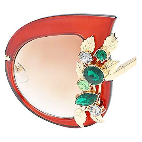 en Yeux de Lunettes de mode monture Lunettes ZCFX Yj03 soleil diamant de femme Monture Lunettes de chat pour soleil soleil tendance à wnY8npxdq5