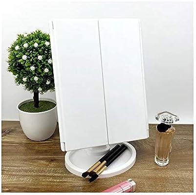 Espejo Maquillaje Espejos De Mesa 22 Espejo De Escritorio con Luz ...