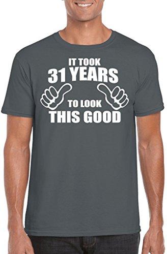 Novelty Gifts Herren T-Shirt, Logo grau anthrazit