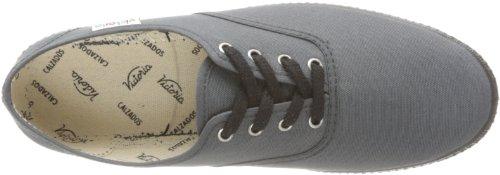 Calego Inglesa Pique Piso 6610 - Zapatillas de tela unisex Gris (Gris (Antracita))