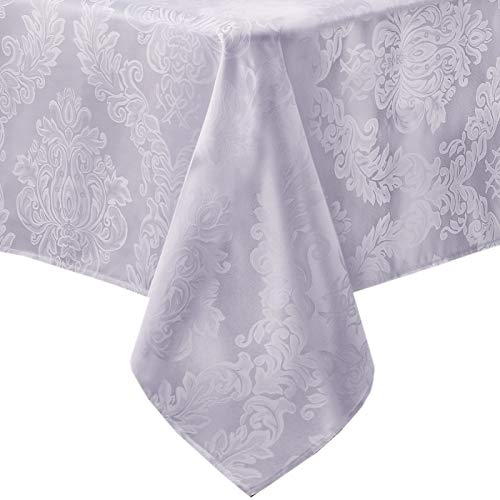 Newbridge Barcelona No-Iron Soil Resistant Fabric Damask Tab