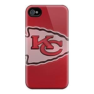 Anti-Scratch Hard Phone Case For Iphone 6 (Qrj17894WWEG) Allow Personal Design Fashion Kansas City Chiefs Skin