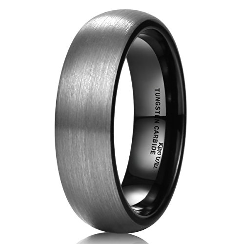 King Will Brushed Tungsten Carbide