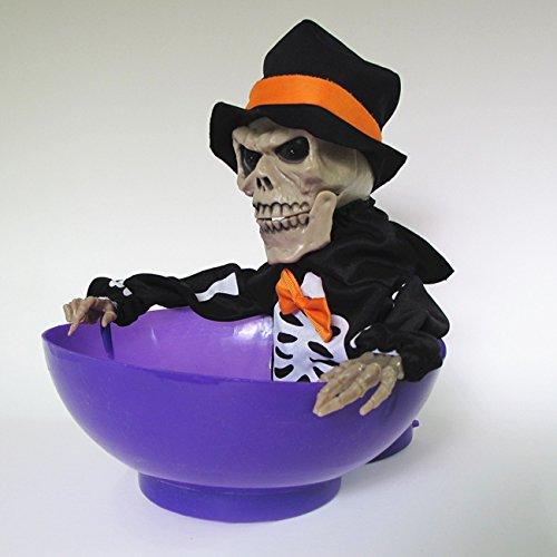 Autumn Water Strange Tricky Toy Halloween Whole Skull